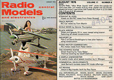 Radio Control Models and Electronics magazine August 1976 MAP Hobby