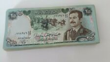 More details for 50x25 iraqi dinar note in extra fine condition