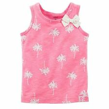 Carter's Tropical Palm Tree Tank - Toddler Girl  size 2T