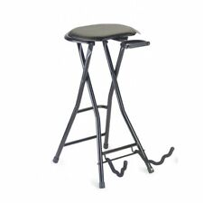 Stagg GIST-350 Foldable Round Stool with Built-In Guitar Stand
