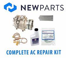 For Honda Civic del Sol L4 1.6L Complete A/C Repair Kit New Compressor & Clutch