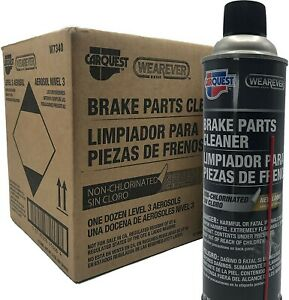 LAPB Wearever Brake Parts Cleaner Non-Chlorinated W7340 Best in Class Cleanin...