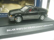 1/43 SAPI HONDA Ballade Sports CR-X (Civic) 1983 black