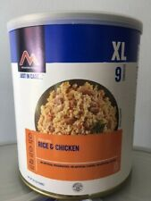 Moutain House Freeze Dried Emergency Food Rice&Chicken #9 Can 1 Pack