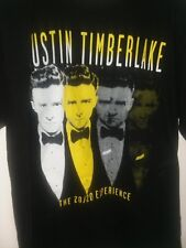 Justin Timberlake 20/20 Experiance Concert Tour T Shirt L Large