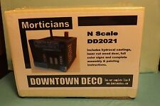 N SCALE DOWNTOWN DECO MORTICIANS # DD 2021
