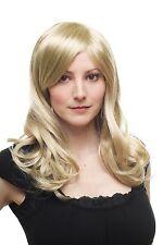 Naturel Séduisant ! Perruque pour Femme Blond Clair mi-Longs Ondulés 3275-234