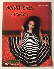 """Not To Late"" Norah Jones  PVG Sheet music"