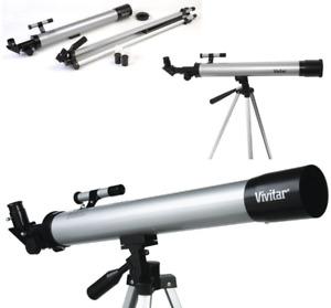 Telescope w/ Tripod Student Beginners Full Kit - Open Box VIV-TEL-50600