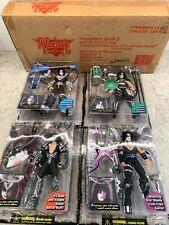 Kiss Ultra Action Figures- Set Of 4 - McFarlane Toys 1997 original mailer