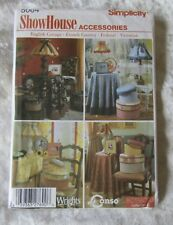 NEW  SIMPLICITY  SHOW HOUSE ACCESSORIES  PATTERN 5064