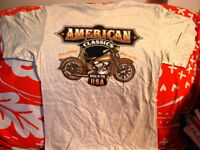 MOTORCYCLE AMERICAN CLASSICS T-SHIRT