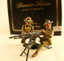 Britain premier series Charles Biggs 8938 US Machine gun section soldiers