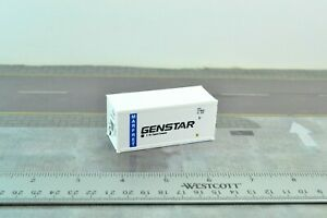 20' GENSTAR Thermo King Refrigerated Container 1:87 HO Scale