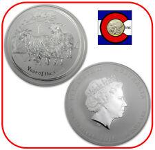 2015 Lunar Australian Goat 10 oz Silver Coin, Series II, Perth Mint Australia