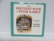 The Birthday Book of Peter Rabbit 1994 Excellent condition!