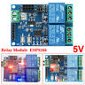 5V WIFI Relay Module ESP8266 Remote Control Switch Smart Home APP 2 Channel Road