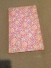 Vintage Fabric Bound Journal Notebook Floral Pattern
