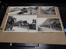 Antique authentic photographs  1935 Quetta earthquake ( بلوچستان زلزلہ‎) a page