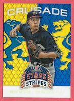 2015 Mark Vientos Panini USA Stars and Stripes Crusade Rookie - New York Mets