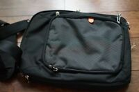 Booq Shoulder Vertical Messenger Carry Bag 14.5IN * 11IN Laptop, Black