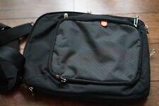 Booq Shoulder Vertical Messenger Carry Bag 14.5IN * 11IN Laptop, Black