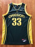 Oregon Ducks LUKE JACKSON Signed Authentic Nike #33 Jersey