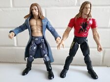 Rare Jakks WWE WWF Wrestling Figure Jakks 1999 TTL EDGE AND CHRISTIAN