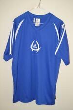 MENS BLUE ADIDAS CLIMA35 RUNNING EXERCISE TRAINING FOOTBALL STYLE TOP UK LARGE
