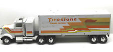 "Rare NyLint USA 24"" Firestone Radial Express Tractor Trailer Pressed Steel"