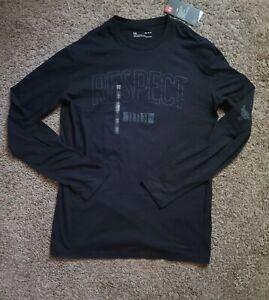 Under Armour Project Rock Respect 11:11:11 Long Sleeve Shirt 'Black' 1345583 001
