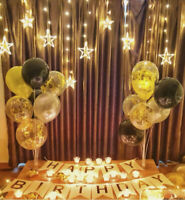 """10PCS 12"""" Number Ages Latex Balloons 30 40 50 60th Happy Birthday Party Decor"""