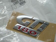 Logo Genuine Peugeot 206 Gti 180 badge 8665AC