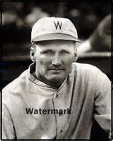 1927 HOFer Walter Johnson Washington Senators Black & White 8 X 10 Photo Picture