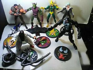 Marvel Legends Toybiz Spiderman SINISTER SIX BOX SET - Kraven Goblin Doc OC +++