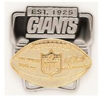 New York Giants Logo Deluxe Pin Duke Badge NFL Football Metall