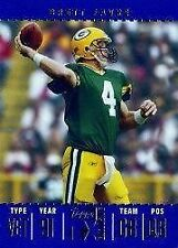 Serial Numbered Topps Brett Favre Original Football Cards