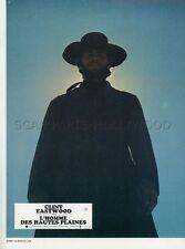 CLINT EASTWOOD HIGH PLAIN DRIFTERS 1973 VINTAGE PHOTO LOBBY CARD N°2
