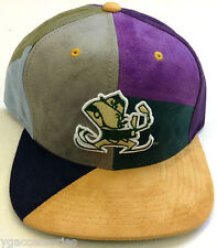 e6994425dff NCAA Notre Dame Mitchell and Ness Multi-Color Snapback Cap Hat M N RARE NEW!