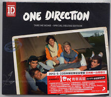 One Direction: Take me home - Special Deluxe Edition (2013) CD & DVD TAIWAN