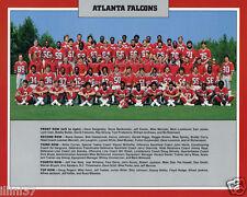1982 ATLANTA FALCONS NFL FOOTBALL 8X10 TEAM PHOTO BARTKOWSKI WHITE SHOES JOHNSON