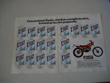 advertising Pubblicità 1981 MOTO FANTIC TRIAL 125