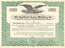 The Hawthorne Textile Machinery Co. > 1950 New Jersey stock certificate