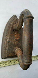 Vintage B & CO Sad Iron Late 1800's