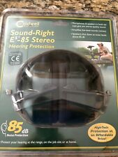 Caldwell Sound Right E-85 Stereo Hearing Protection