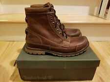 Timberland Men's Earthkeepers Original 6 in. Leather Boots Brown Mens Size 11
