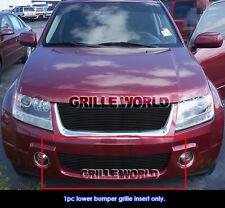 Fits 2006-2011 Suzuki Grand Vitara Lower Bumper Billet Grille Insert
