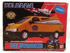 1991 Bandai Metal Hero SUPER RESCUE SOLBRAIN SOL DWRECKER 100% NEW & ULTRA RARE