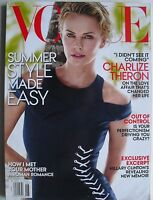 CHARLIZE THERON June 2014 VOGUE Magazine HILLARY CLINTON / CAROLINE TRENTINI