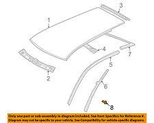 VW VOLKSWAGEN OEM 99-06 Golf Roof-Drip Rail Rivet N90097802